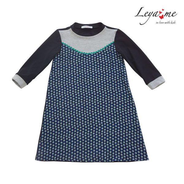 Шелковое детское платье-комбинация