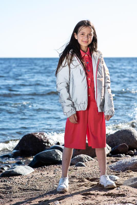 Светоотражающая детская куртка 2021 1