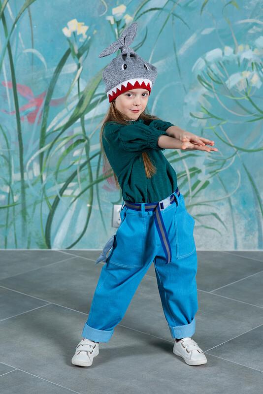 Детская шапка-акула 2021 1