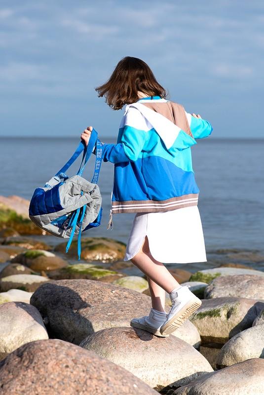 Стеганый детский рюкзак из светоотражающей ткани 2020 1