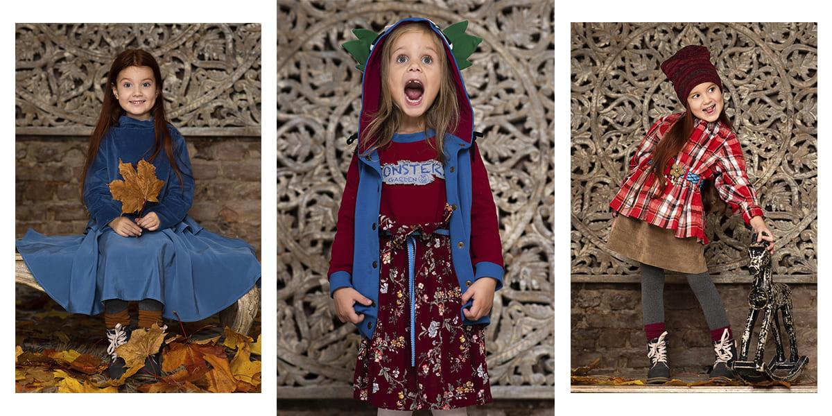 Коллекция Осень-Зима 2020 - Monsters'Garden. Красивая детская одежда