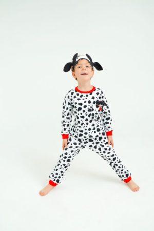 """Детская пижама с игрушкой и маской для сна """"Бычок"""""""