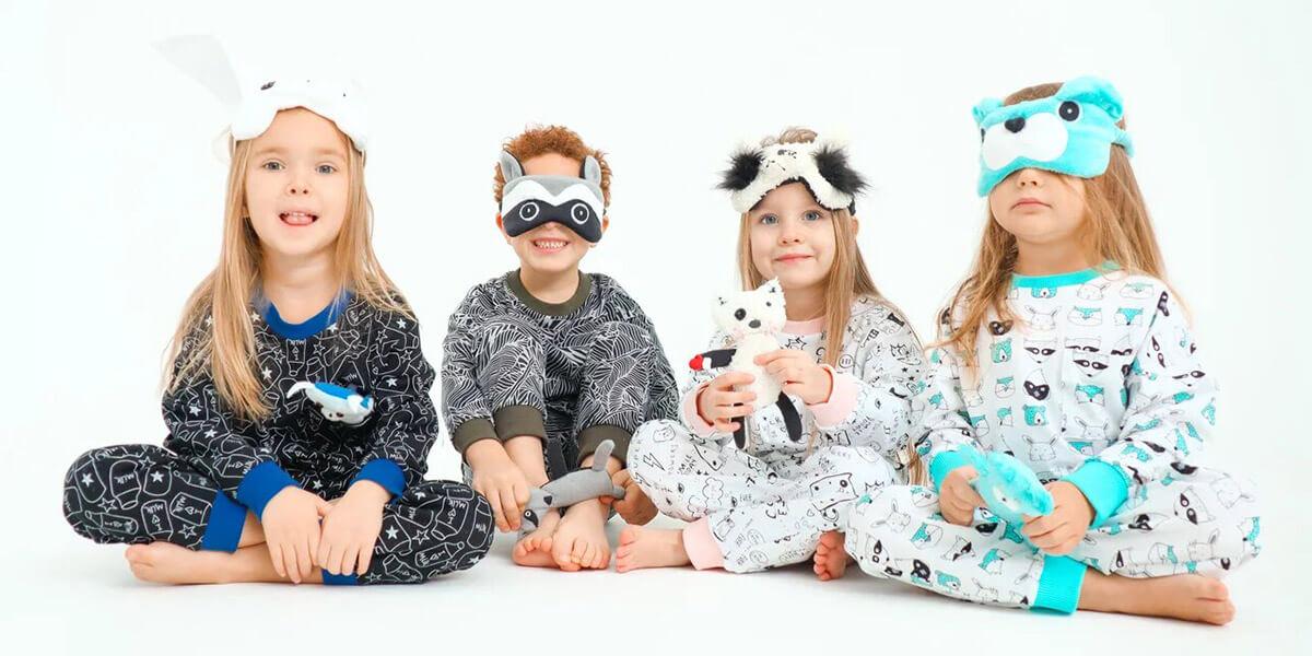 Уютная домашняя одежда и пижамы для детей