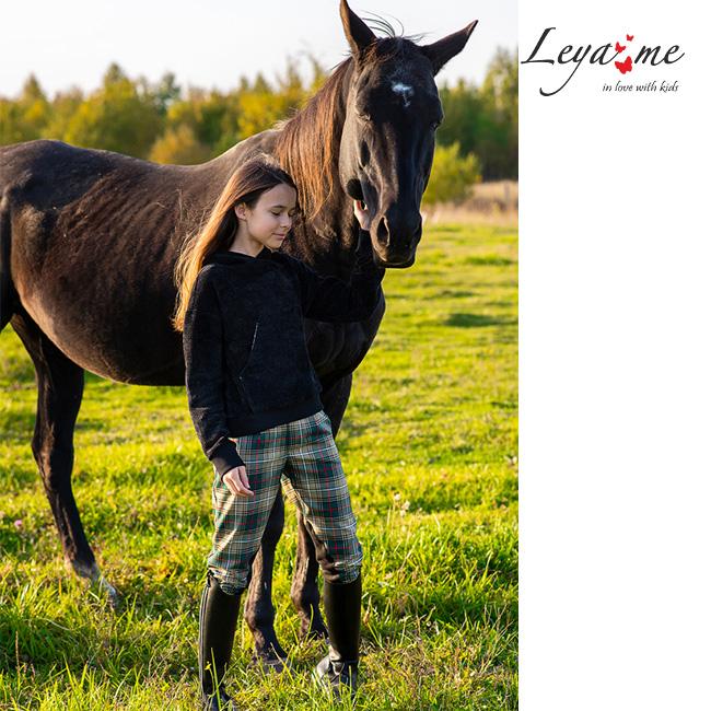 Коллекция Осень-Зима 2021 -On Horseback. Красивая детская одежда