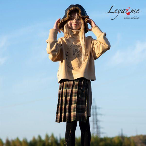Детская юбка-трапеция для девочки