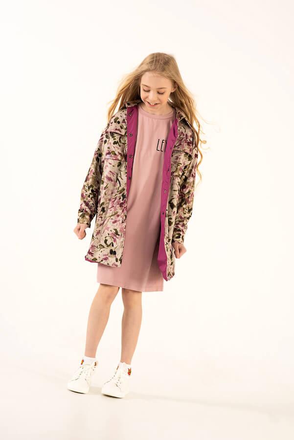 Детская куртка-рубашка для девочки