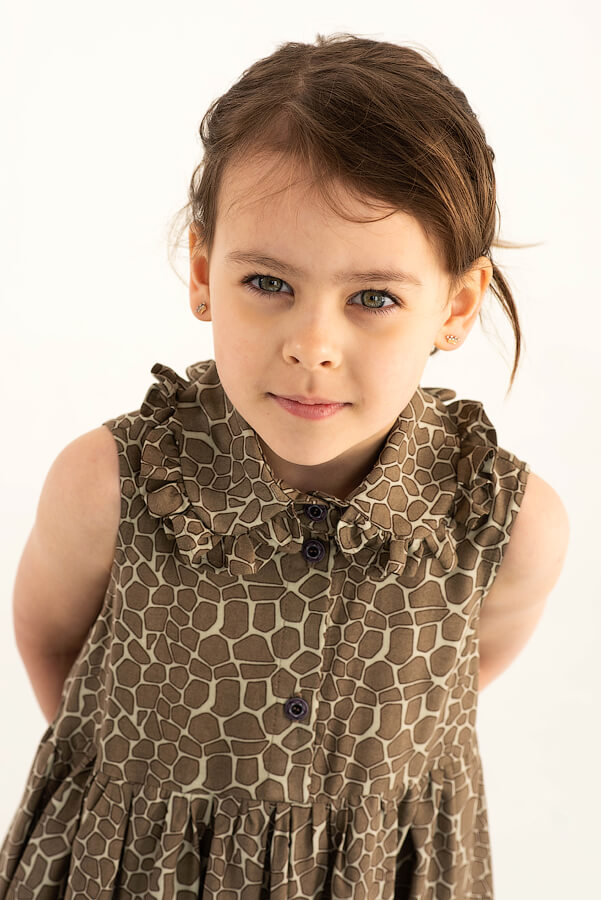 Летнее детское платье-сарафан для девочки