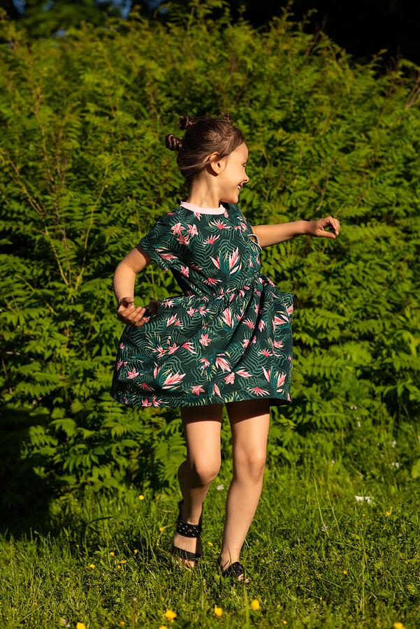 Детское платье-туника для девочки