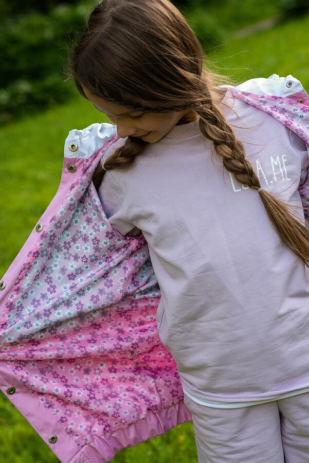 Летняя детская ветровка для девочки