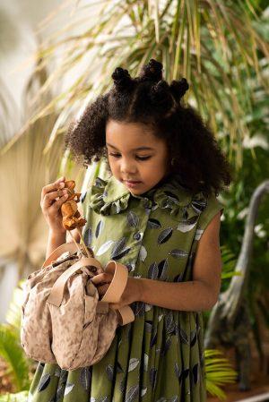 """Детская сумочка """"Яйцо динозавра"""" с игрушкой"""