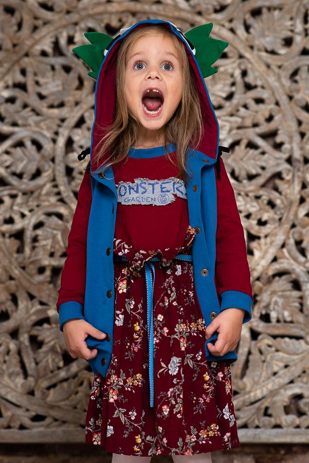 Коллекция детской одежды Осень-Зима 2020 – Monsters' Garden