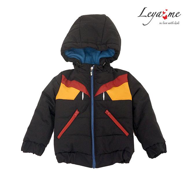 """Детская куртка-пуховик для мальчика """"Монстр"""""""