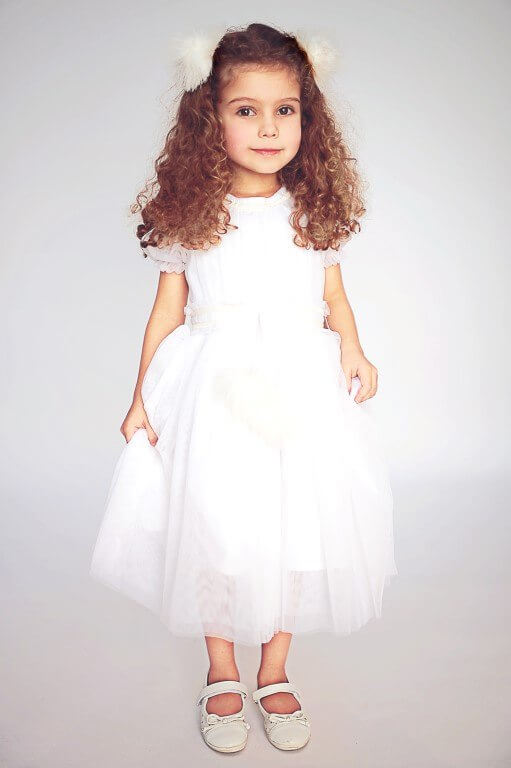 Платье-снежинка детское 2021 1