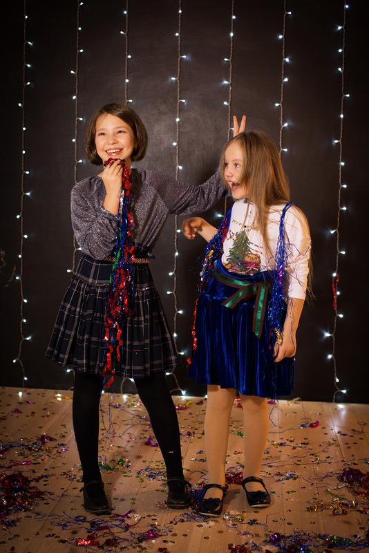 Трикотажная блузка детская из люрекса на девочку 2021 1