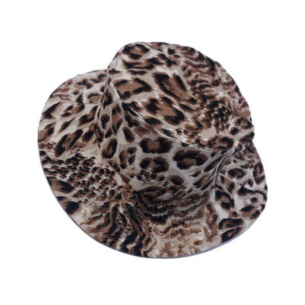 Панама леопардовая детская