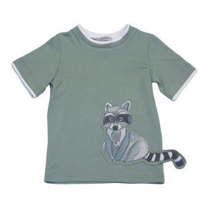 Детская футболка с енотом
