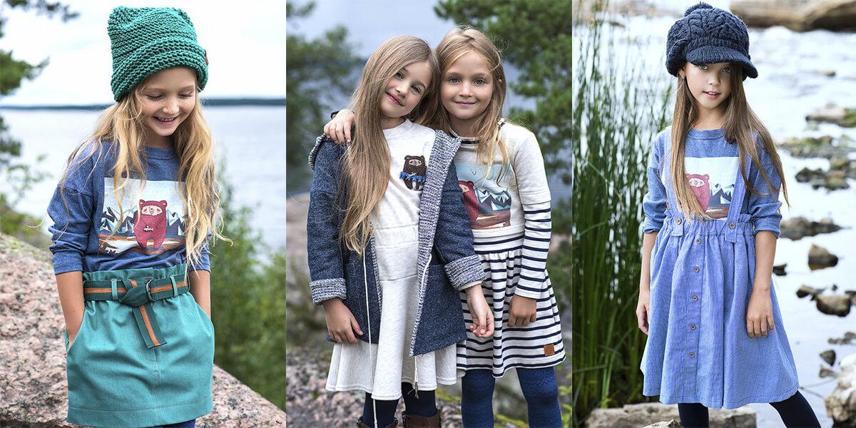 Коллекция детской одежды 2018 – Осень-зима – Alaska Dream