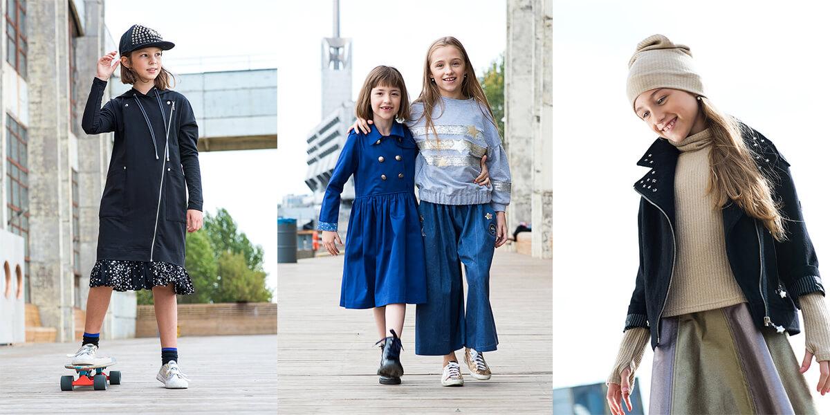 Коллекция детской одежды Осень-Зима The Universe от Leya.me