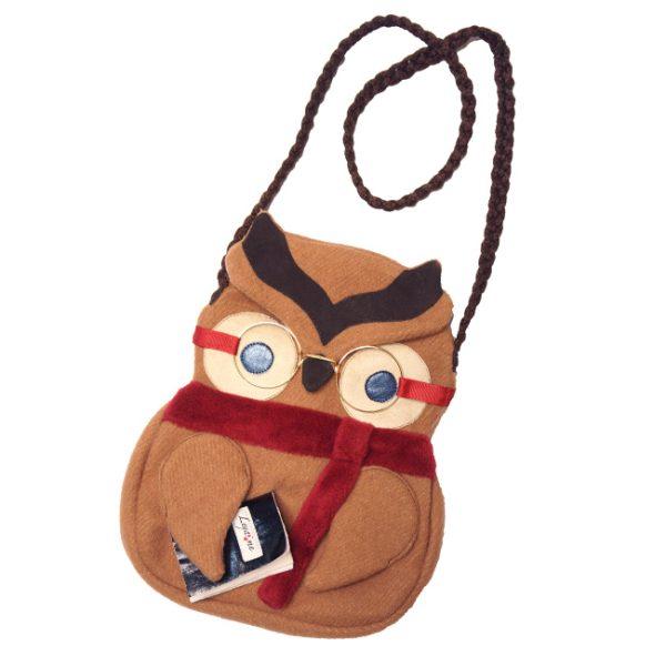 Детская сумочка в виде Умной Совы