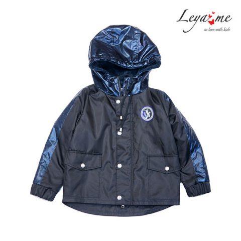 Куртка парка детская черная утепленная на мальчика