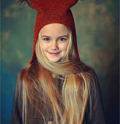 "Детская шапка ""Беличьи ушки"""