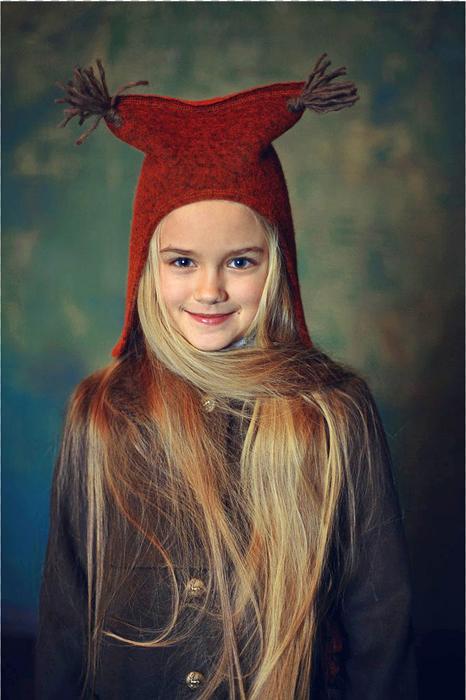 "Детская шапка ""Беличьи ушки"" 2021 1"
